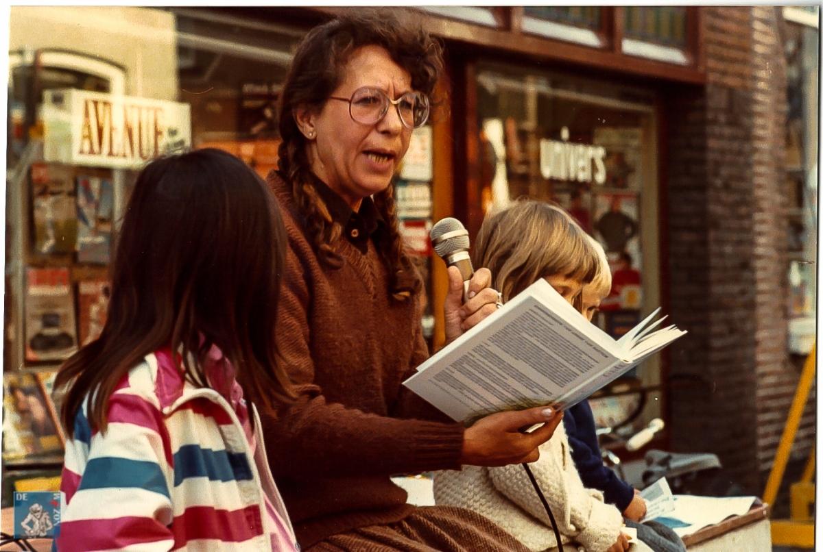 Manifestatie Open Boek 1979/1980 Foto Peter Putters