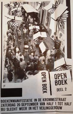 affiche-bert-van-as manifestatie open boek